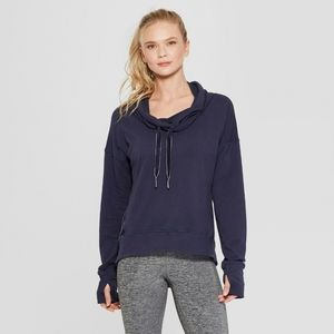 CHAMPION Navy Blue  Pullover Sweater